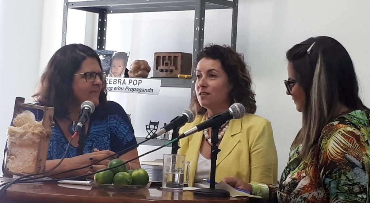 Da esquerda para direita: Adriana Thiessen, Lissandra Monza e Carola Luz.